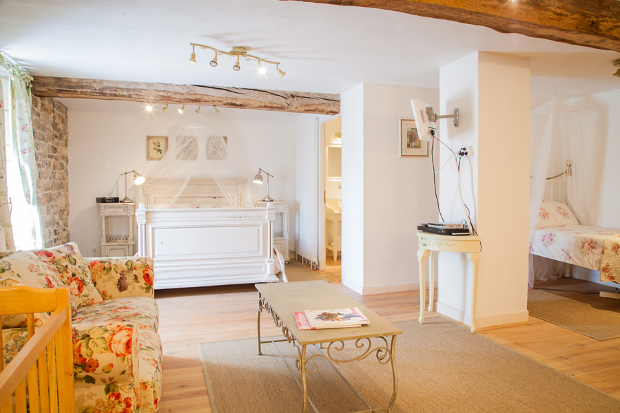 La Chambre Rose - La Vieille Abbaye - Chambres d'hôtes et gites de luxe - Calvado