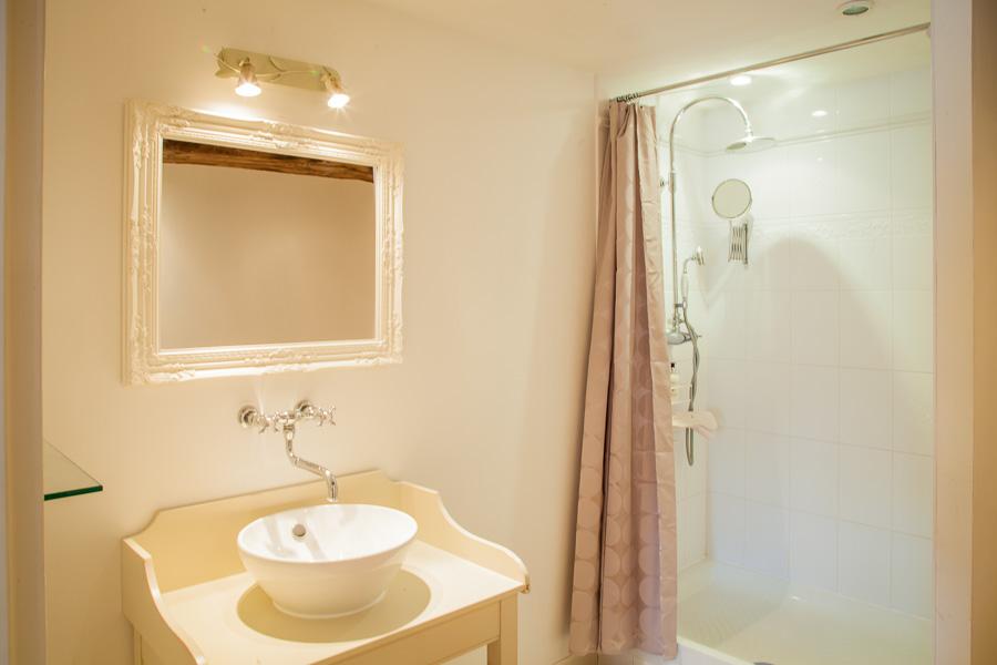 La Chambre Rose - La Vieille Abbaye - Chambres d'hôtes et gites de luxe - Calvados - Normandie