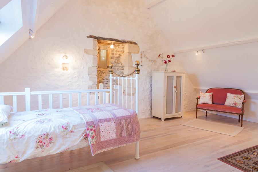 La Chambre Ange - Chambres d'hôtes et gites de luxe - Calvados - Normandie - La Vieille Abbaye